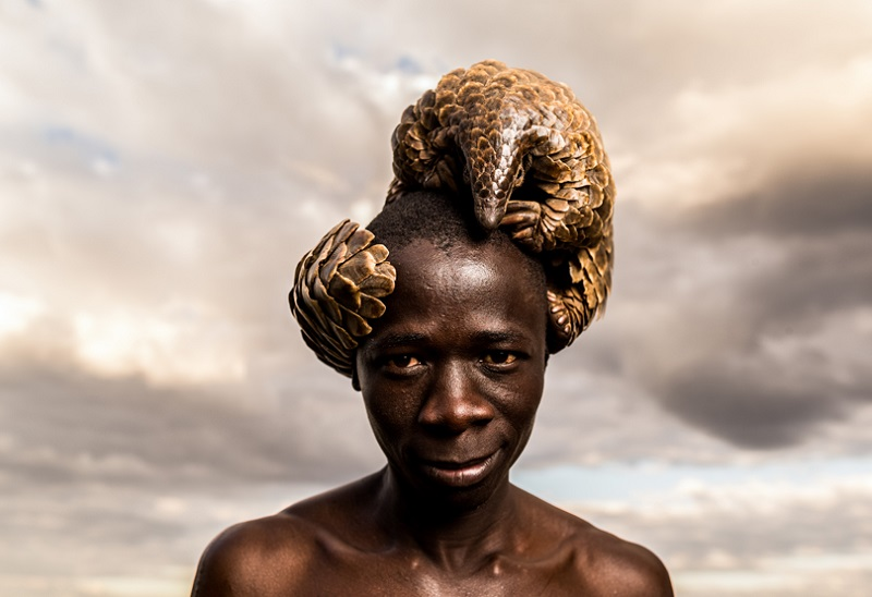 Zimbabwe_protectors_of_secretive_pangolin